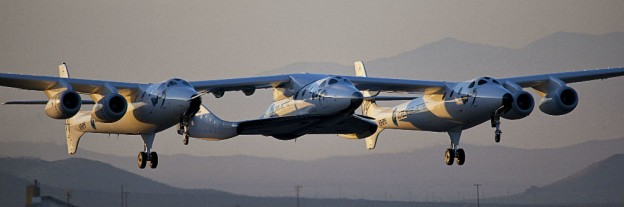 Scaled Composites WhiteKnightTwo with SpaceShipTwo