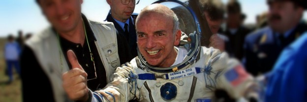 Dennis Tito - the first space tourist