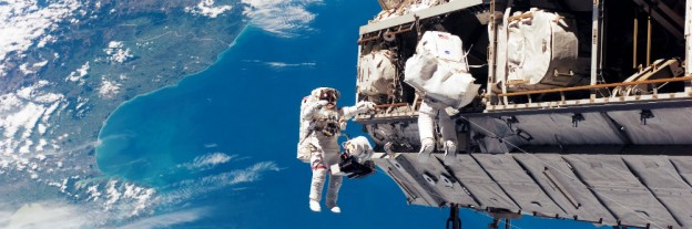 Space Walk at the ISS